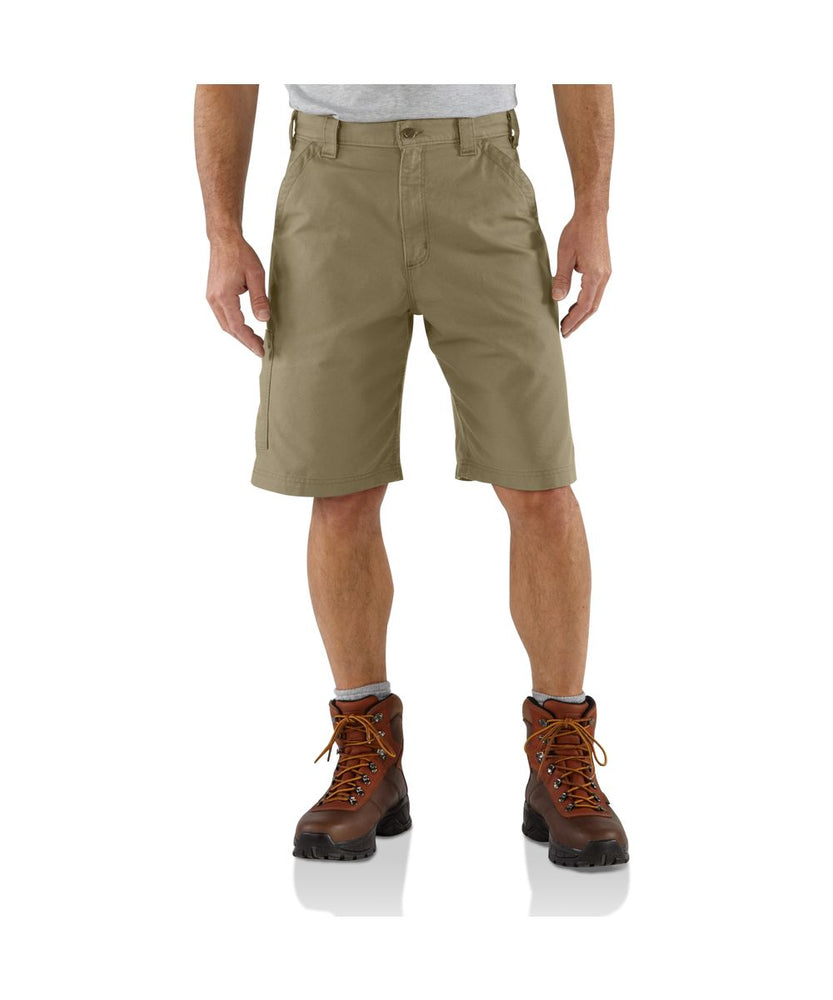 Carhartt B147 Lightweight Canvas Work Short - Dark Khaki