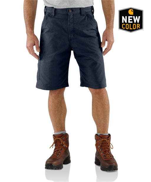 Carhartt B147 Lightweight Canvas Work Short - Navy