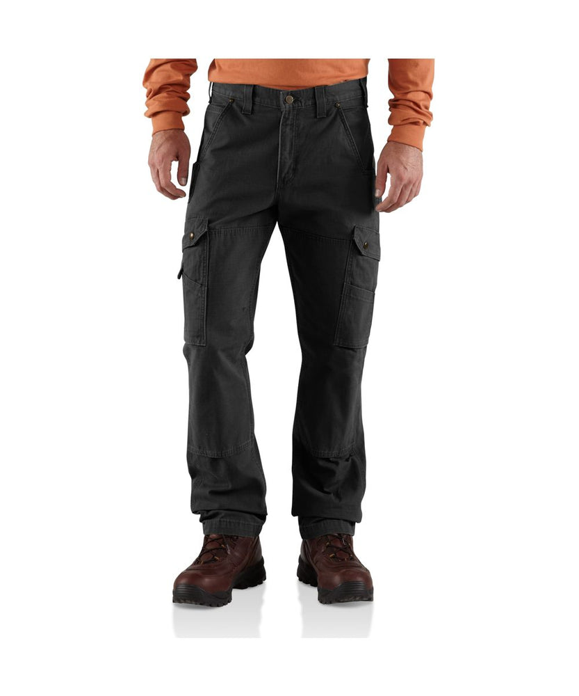 Carhartt Ripstop Cargo Work Pant in Black at Dave's New York