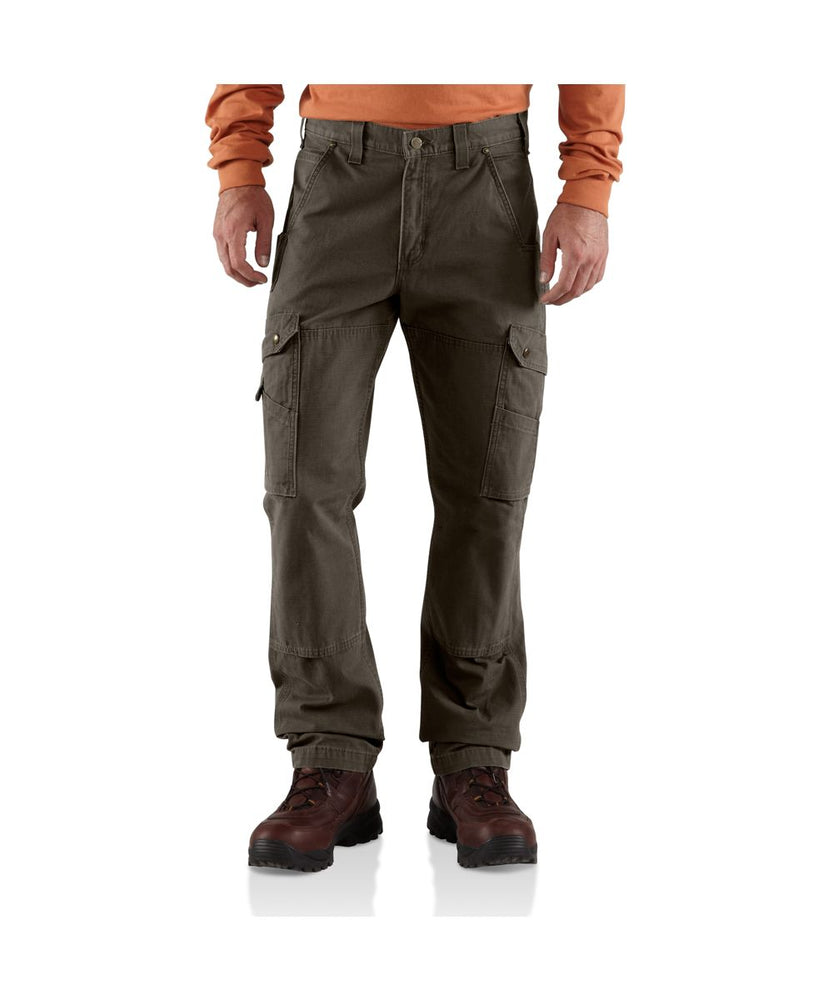 Carhartt Ripstop Cargo Work Pant in Dark Coffee at Dave's New York