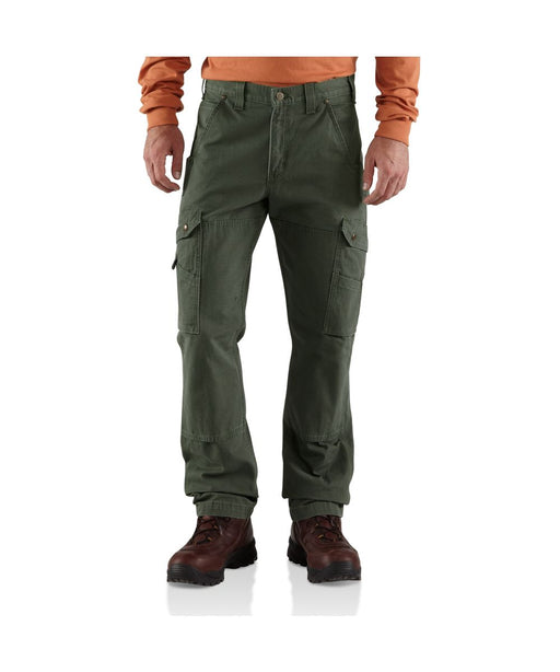 Carhartt Ripstop Cargo Work Pant in Moss at Dave's New York