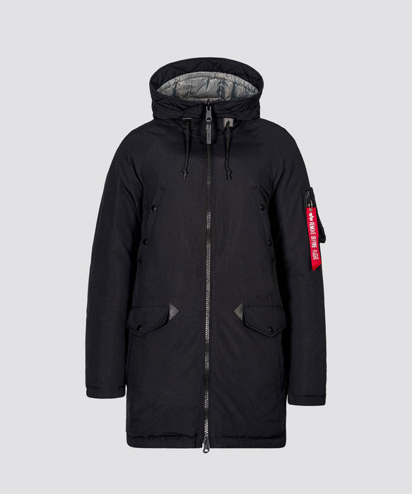 Alpha Industries Men's N-3B Down Parka in Black at Dave's New York