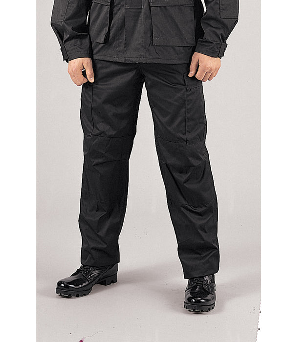 Rothco Army Style BDU Cargo Pants – Black — Dave s New York f8ee3f11ce8