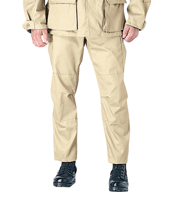 Rothco Army Style BDU Cargo Pants in Khaki at Dave's New York