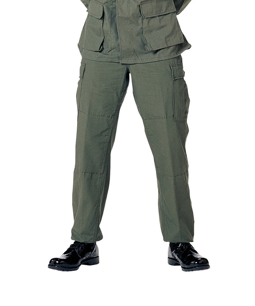 Rothco Army Style BDU Cargo Pants – Olive Drab