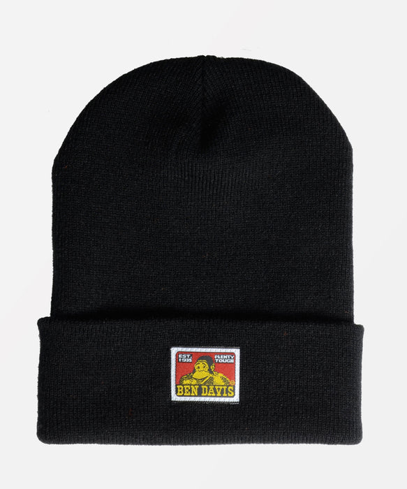 b966129f Ben Davis Knit Beanie - Black — Dave's New York