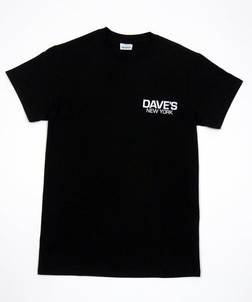 Dave's New York Work Logo Short Sleeve T-Shirt - Black