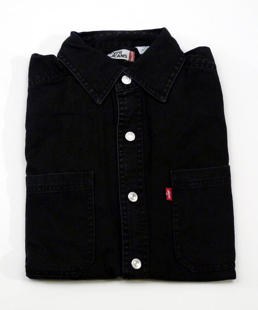 Levi's Men's Classic Denim Shirt in Black at Dave's New York