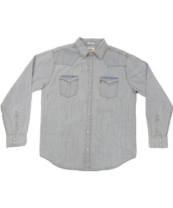 Levi's Barstow Western Denim Shirt – New Age Bleach