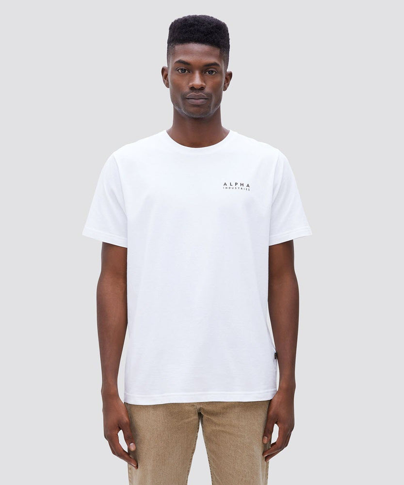 Alpha Industries Blood Chit Short Sleeve T-shirt - White at Dave's New York