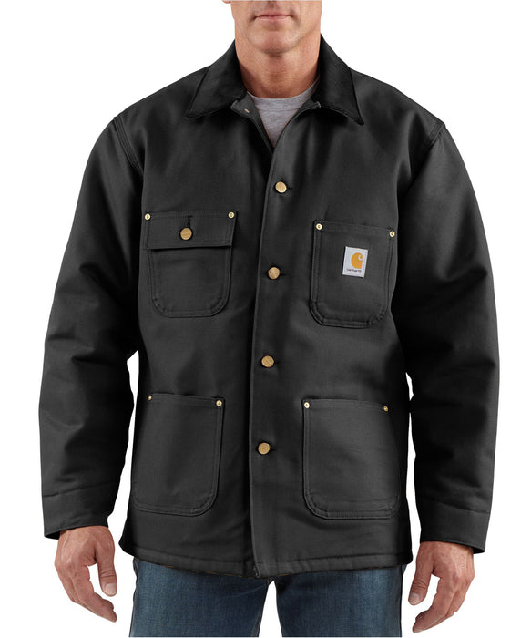 Carhartt Duck Chore Coat – C001 – Black