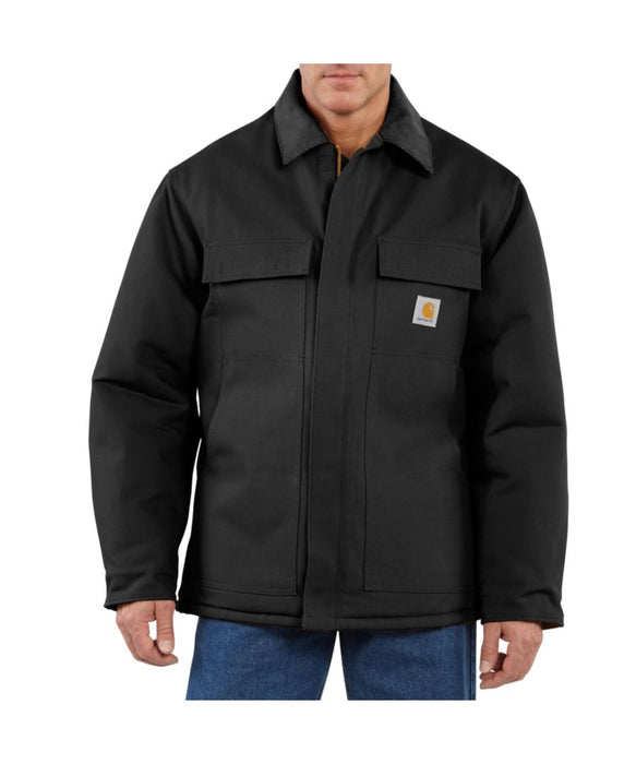 Carhartt Duck Traditional Coat in Black at Dave's New York