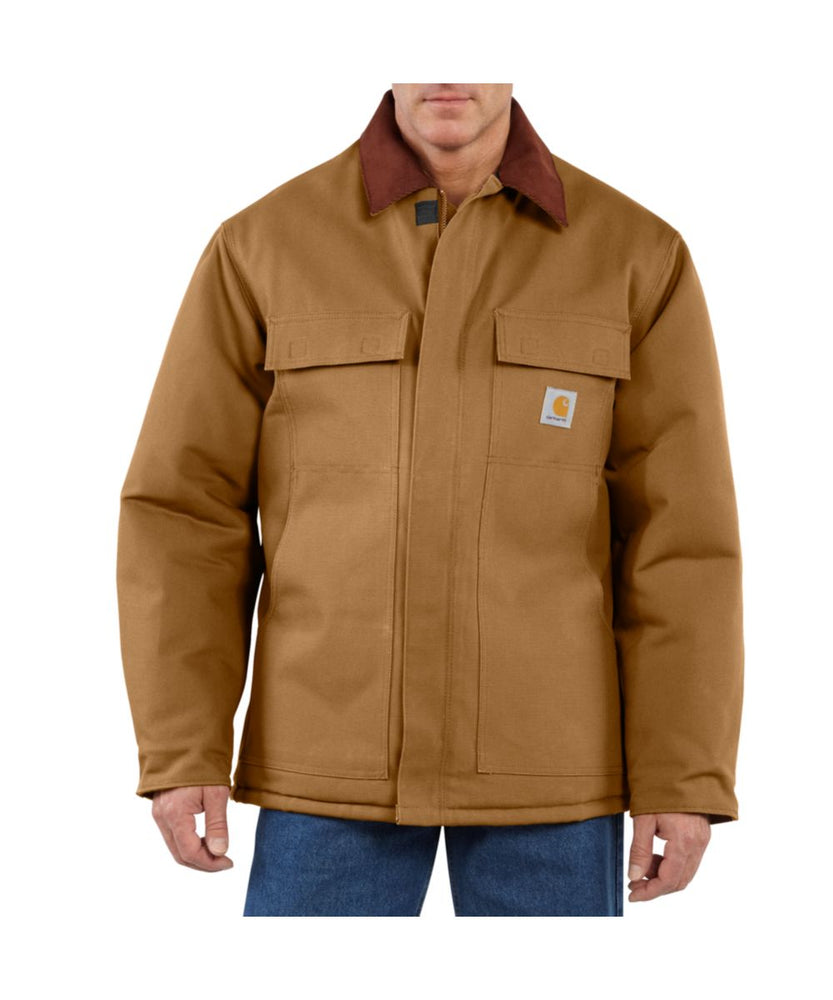 Carhartt DUck Traditional Coat in Carhartt Brown at Dave's New York