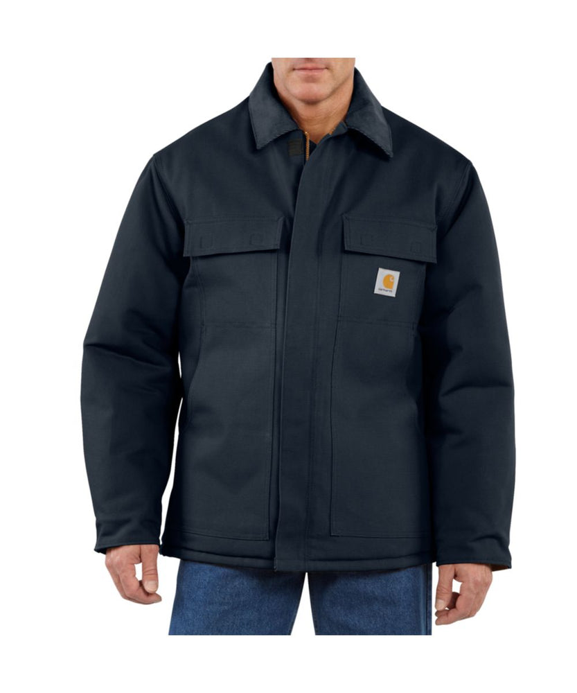 Carhartt Duck Traditional Coat in Dark Navy at Dave's New York