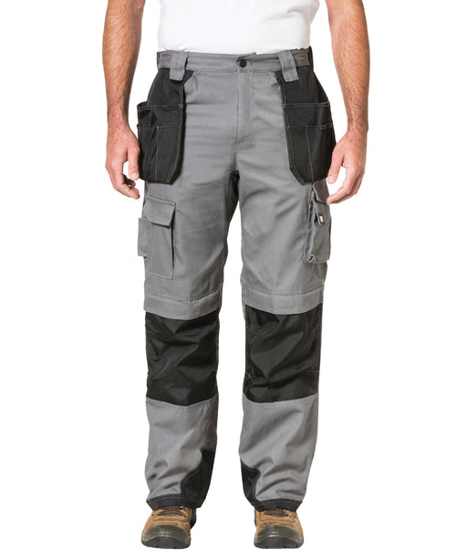 Caterpillar Trademark Trouser (with holster pockets) in Grey at Dave's New York