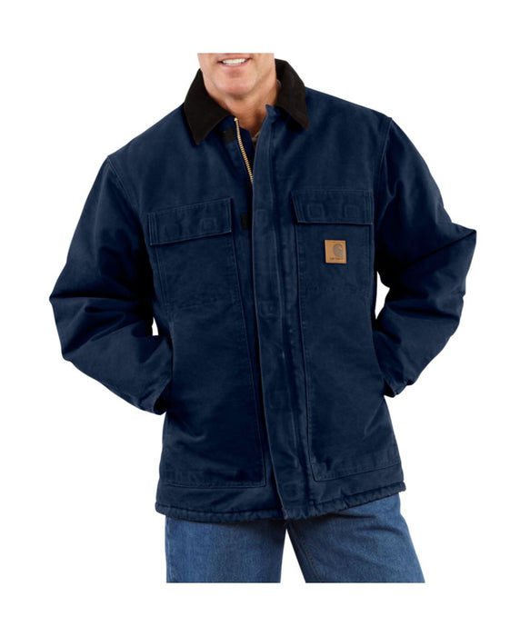 Carhartt C26 Sandstone Traditional Coat - Midnight