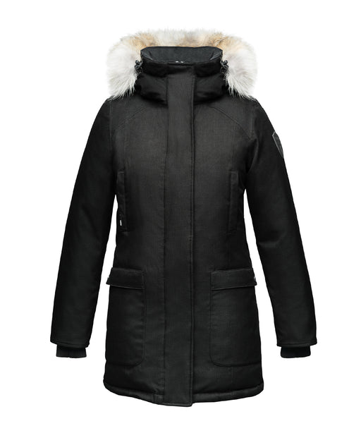 Nobis Carla Ladies Parka – Black