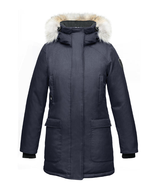 Nobis Carla Ladies Parka – Navy