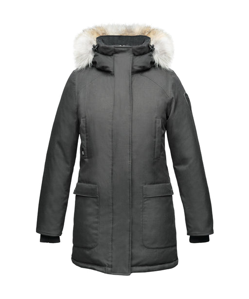Nobis The Carla Ladies Parka – Steel Grey