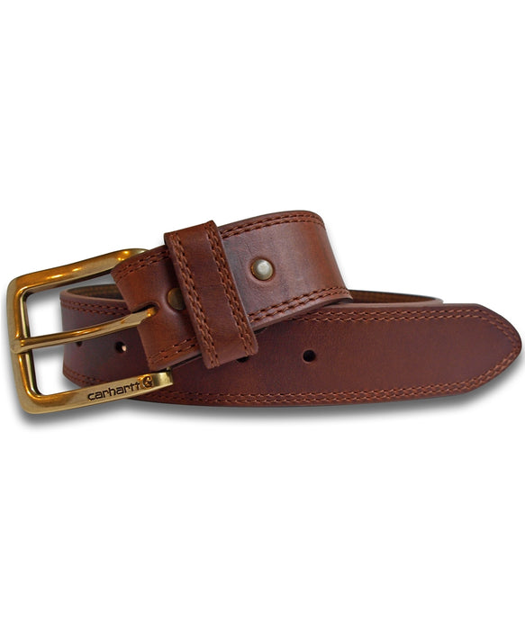 Carhartt Hamilton Leather Belt in Brown at Dave's New York