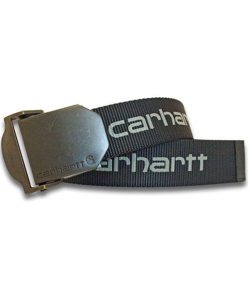 Carhartt Signature Nylon Webbing Belt – Black