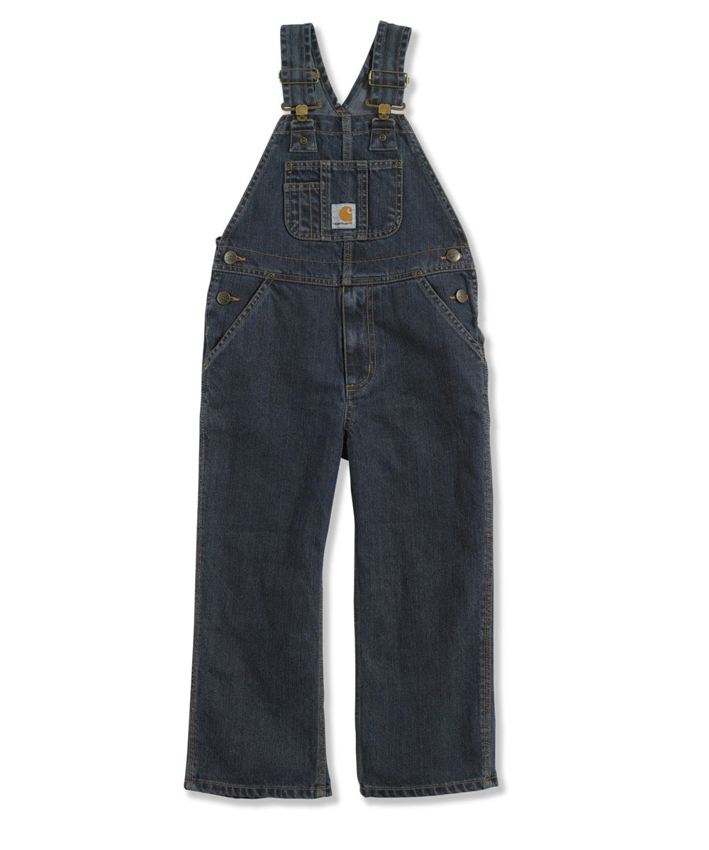 7fa8c1ab8dacc Carhartt Boys Washed Denim Bib Overalls (4-16) – model CM8647 – Worn I —  Dave's New York
