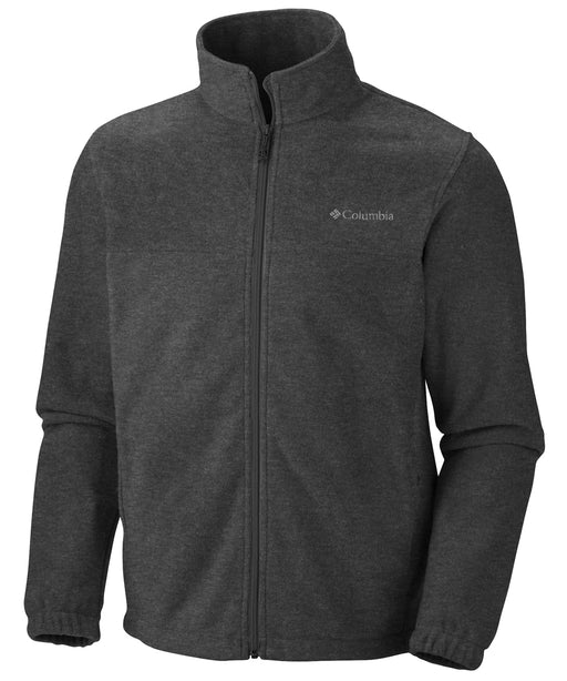 Columbia Men's Steens Mountain Full Zip Fleece in Charcoal Heather at Dave's New York