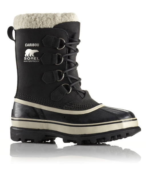 Sorel Women's Caribou Boot (model NL1005) in Black at Dave's New York