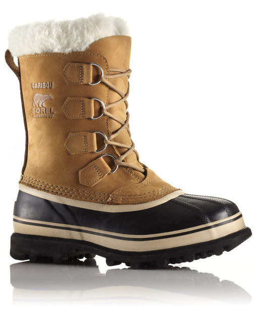 Sorel Women's Caribou Winter Boots in Buff at Dave's New York