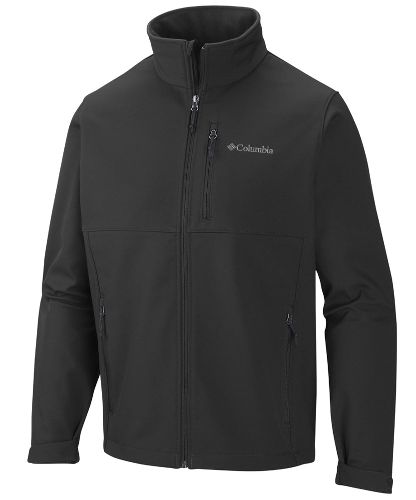 Columbia Men's Ascender™ Softshell Jacket – Black