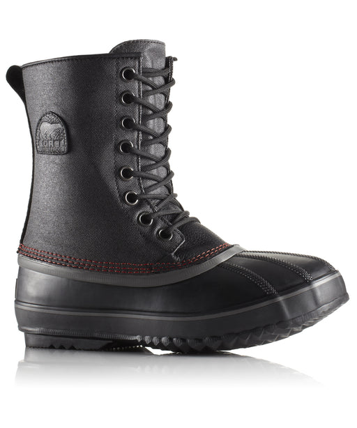 Sorel Men's 1964 Premium T CVS Boot (model NM1560) in Black, Sail Red at Dave's New York