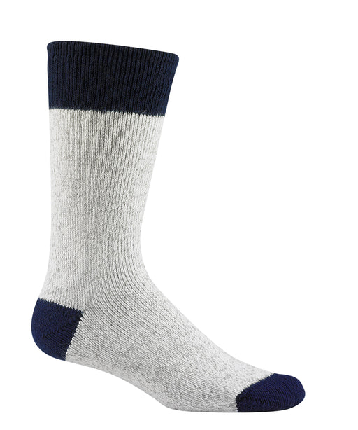 Wigwam Moose Socks – Grey/Navy