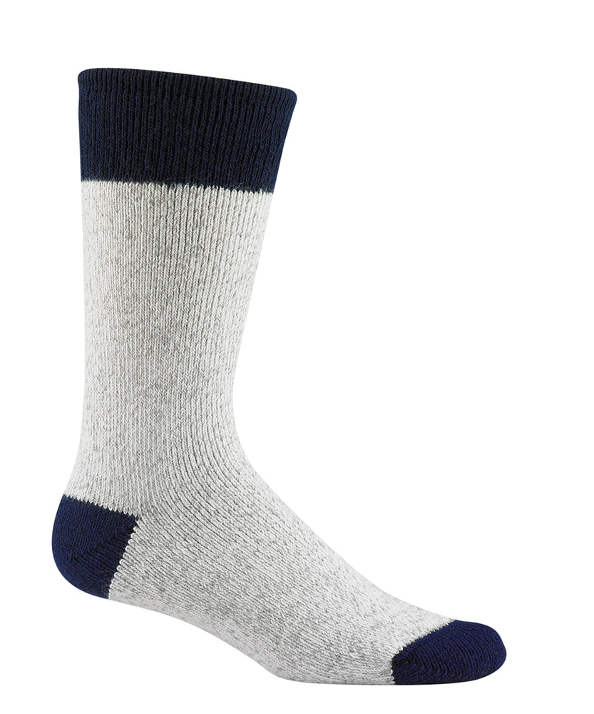 Wigwam Moose Socks in Grey/Navy at Dave's New York