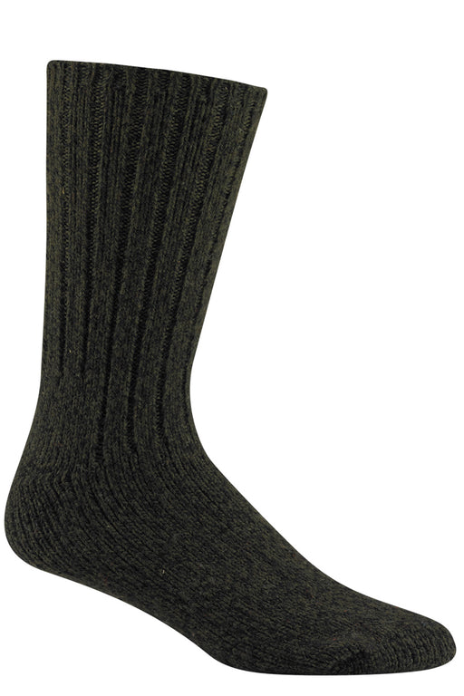 Wigwam El-Pine Heavyweight Wool Socks  in Olive Heather at Dave's New York