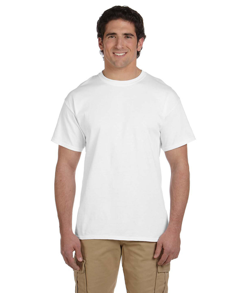 Gildan G200 Short Sleeve Ultra Cotton T-Shirt in White at Dave's New York