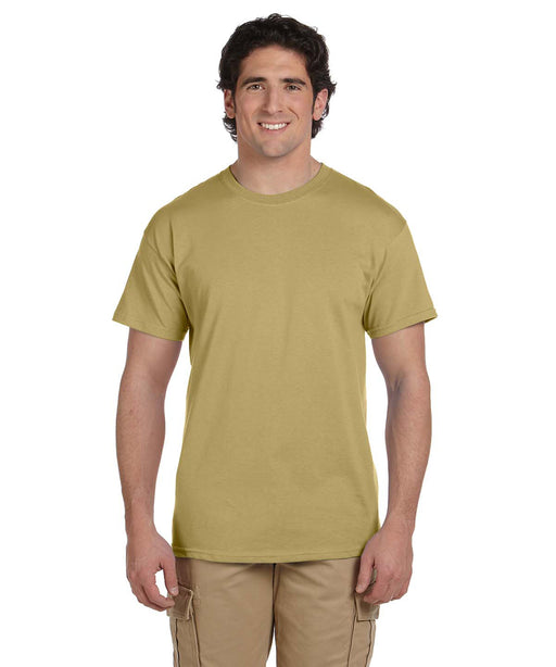Gildan G200 Short Sleeve Ultra Cotton T-Shirt in Tan at Dave's New York