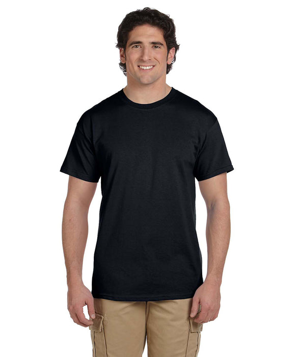 Gildan G200 Short Sleeve Ultra Cotton T-Shirt in Black at Dave's New York