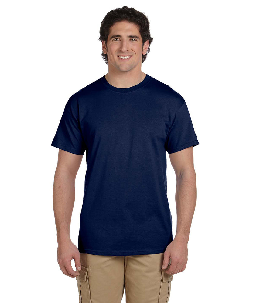 Gildan G200 Short Sleeve Ultra Cotton T-Shirt in Navy at Dave's New York