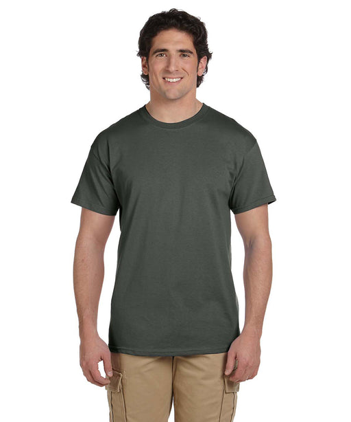 Gildan G200 Short Sleeve Ultra Cotton T-Shirt in Military Green at Dave's New York