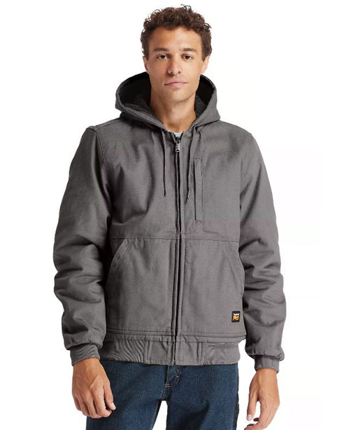 Timberland PRO Men's Gritman Lined Hooded Jacket - Pewter at Dave's New York