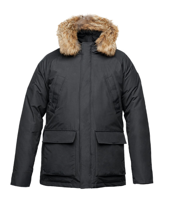 Nobis Heritage Men's Down Insulated Parka - Black