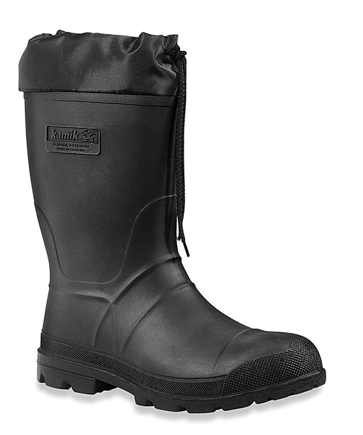 Kamik Men's Hunter Winter Boots in Black at Dave's New York