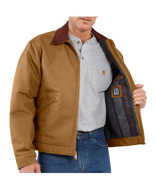 Carhartt Duck Detroit Jacket – J001 – Carhartt Brown