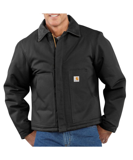 Carhartt Duck Traditional Jacket (model J002) - Black