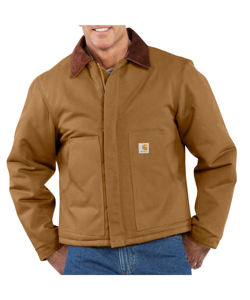 Carhartt Duck Traditional Jacket (model J002) – Carhartt Brown