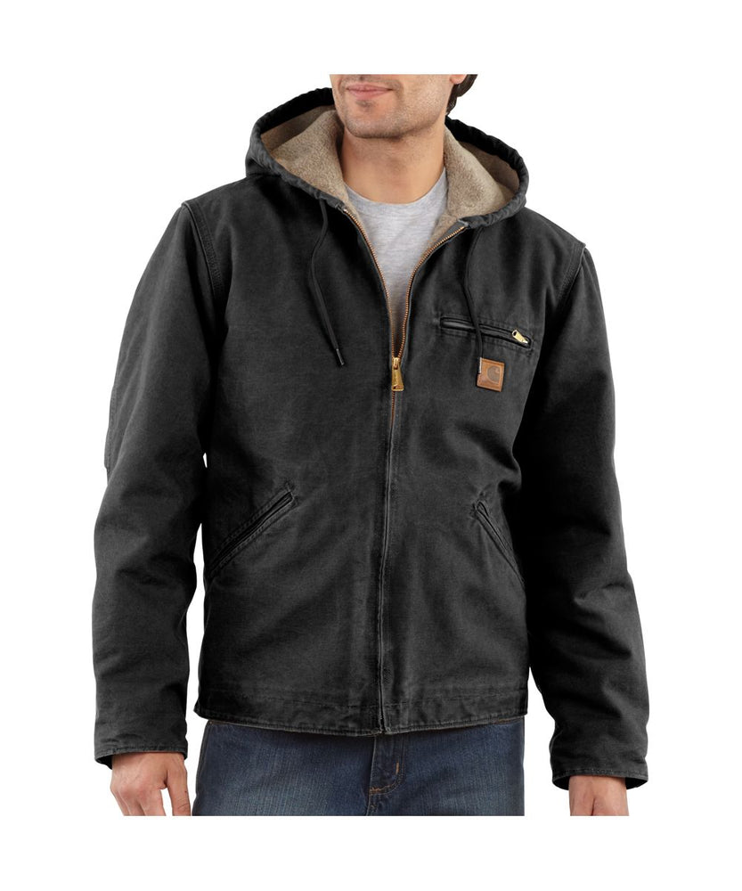 Carhartt Sierra Jacket in Black at Dave's New York