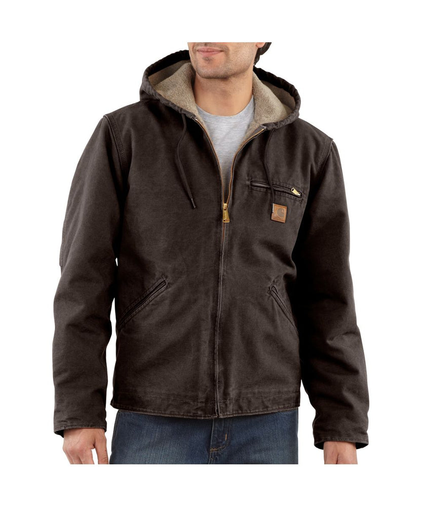 Carhartt Sierra Jacket in Dark Brown at Dave's New York