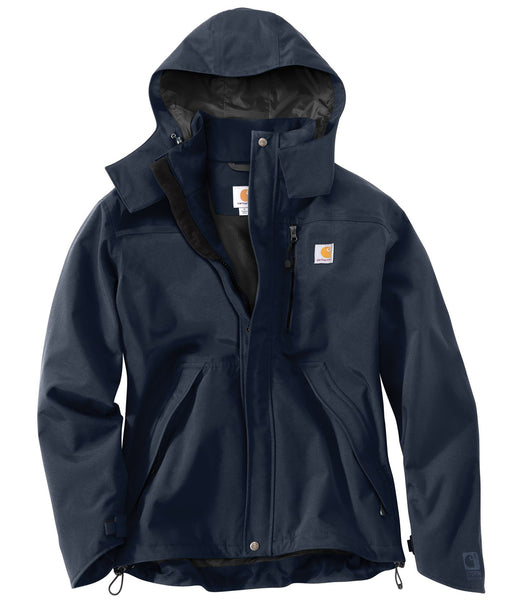 Carhartt Men's Shoreline Waterproof Jacket - model J162 – Navy