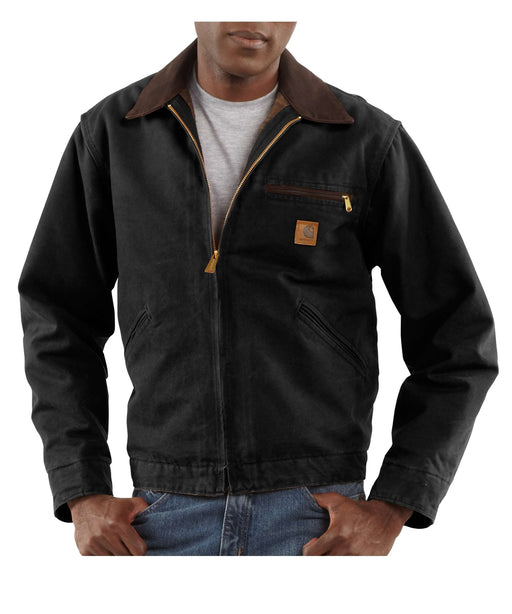Carhartt Sandstone Detroit Jacket (model J97) – Black