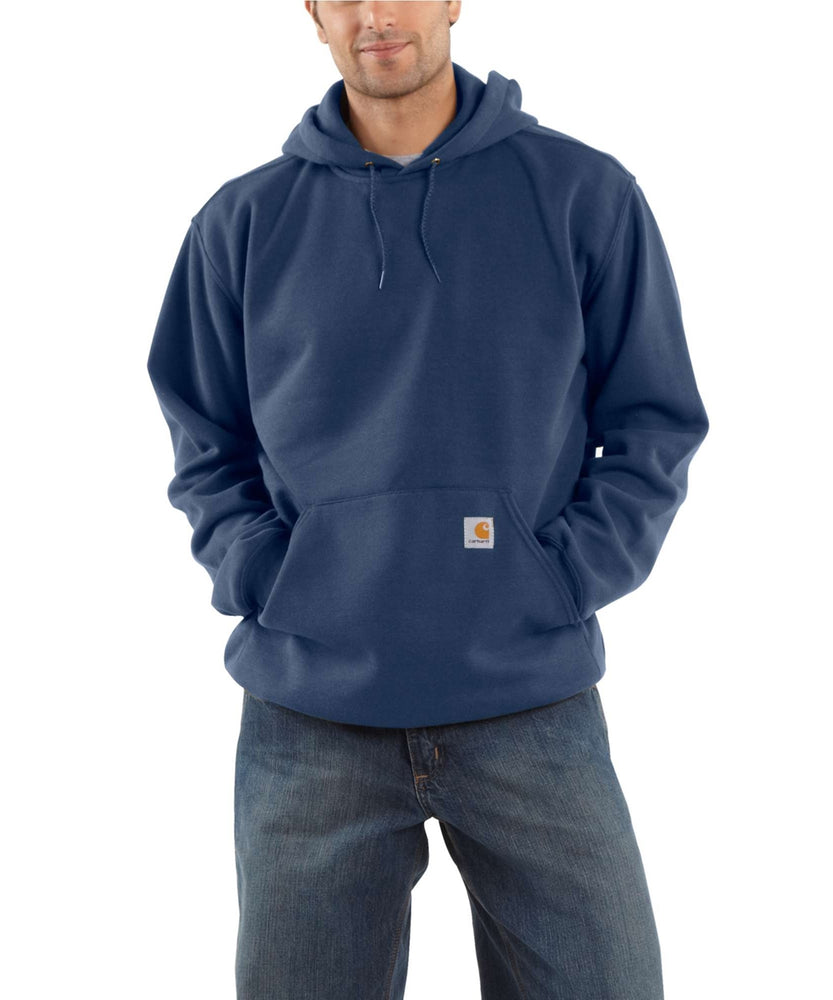 Carhartt K121 Men's Midweight Pullover Hooded Sweatshirt – New Navy